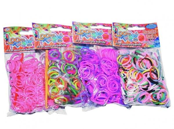 Купить Набор цветных резинок Loom Twister для плетения фенечек в интернет магазине игрушек и детских товаров