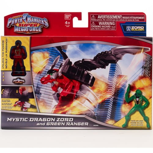 Игровой набор Power Rangers 38081 Фигурка Зорда - 10 см