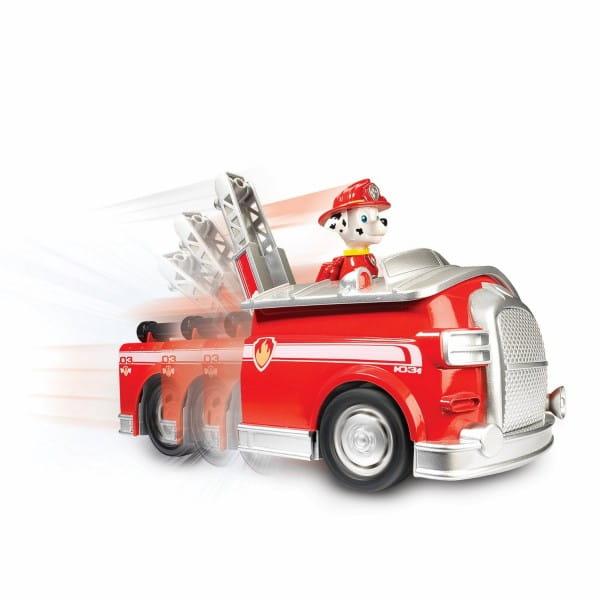 Игровой набор Paw Patrol Щенячий патруль Большой автомобиль спасателей - Пожарный Маршалл (со звуком)