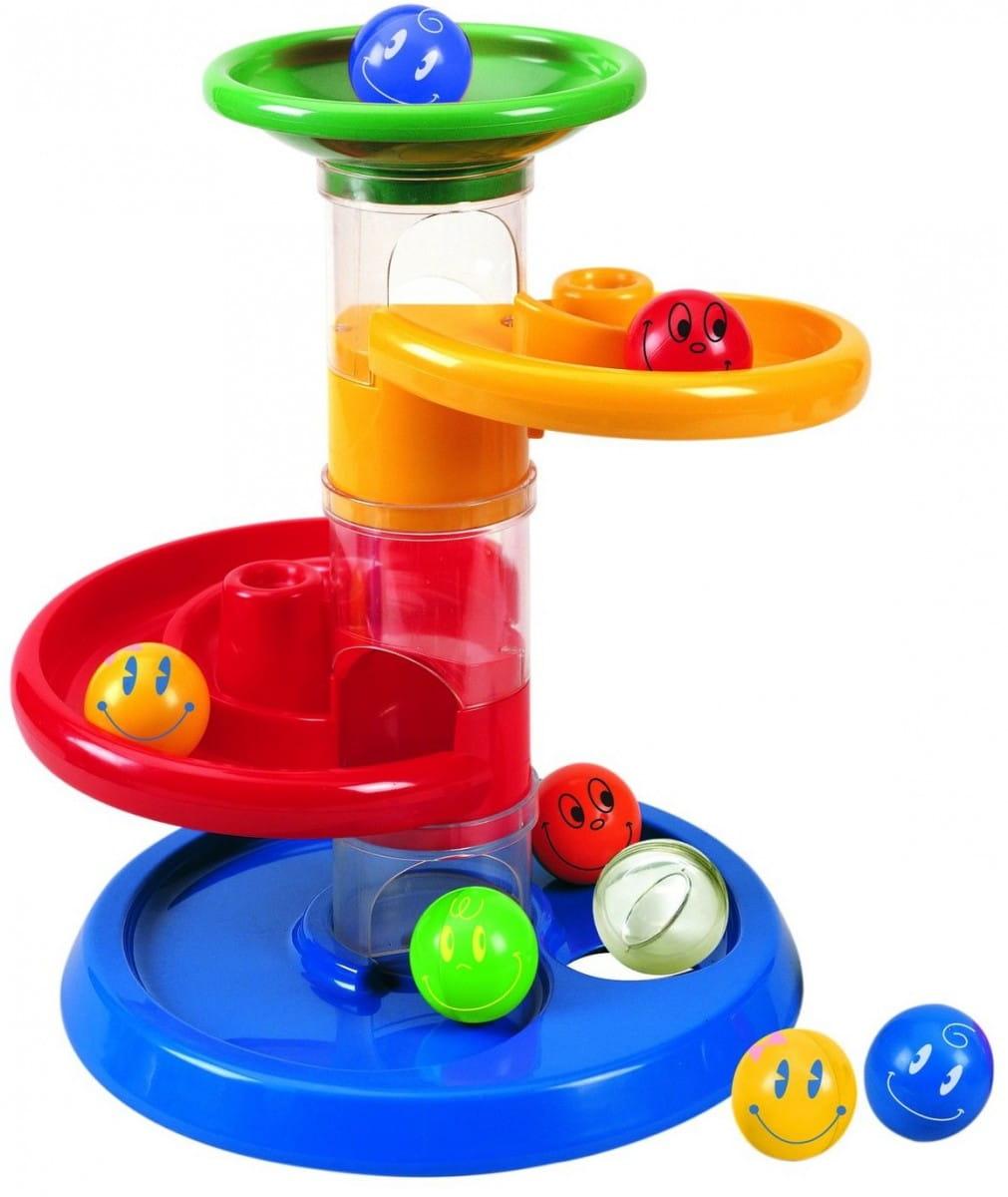 Кинетический конструктор Tototoys 801 Крутые виражи Rollipop (7 деталей, 5 шаров)