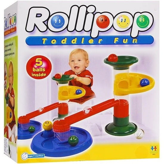 Конструктор Tototoys Крутые виражи Rollipop (10 деталей, 5 шаров)