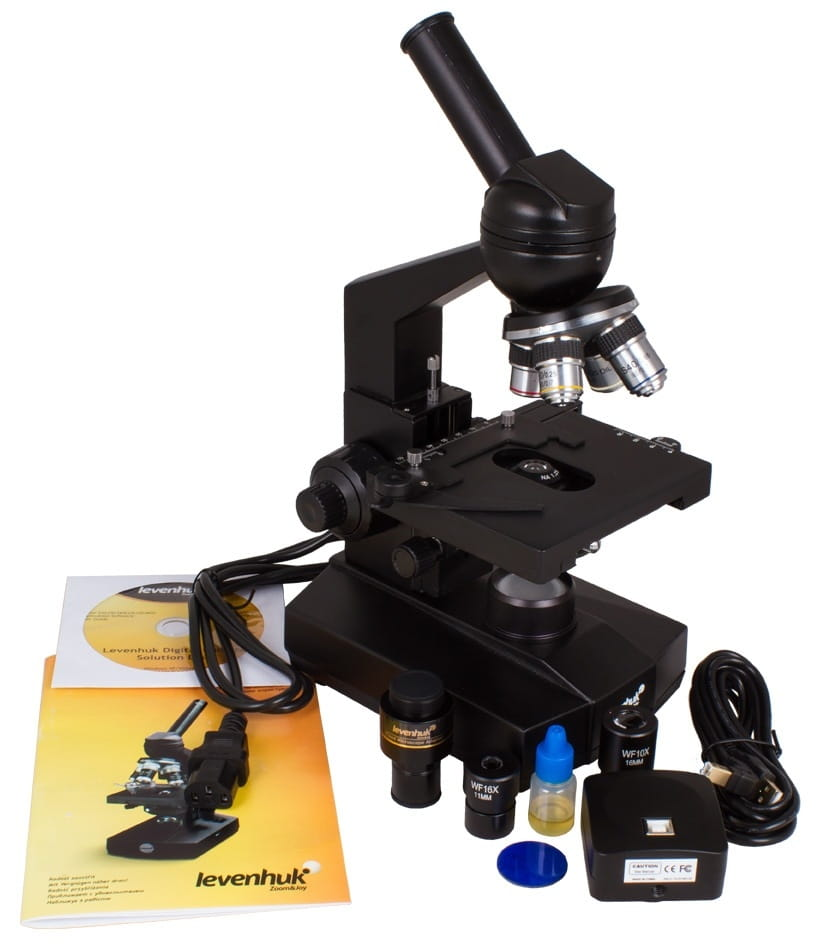 Цифровой микроскоп Levenhuk D320L Digital