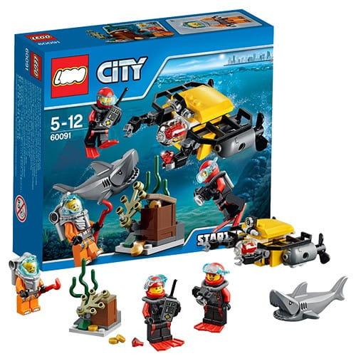 Конструктор Lego City Лего Город Исследование морских глубин