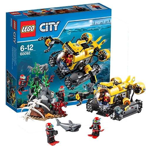 Конструктор Lego City Лего Город Глубоководная подводная лодка
