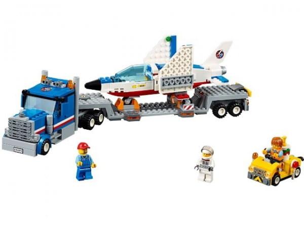 Конструктор Lego City Лего Город Транспортер для учебных самолетов