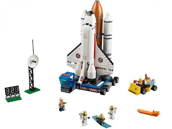 Конструктор Lego 60080 City Лего Город Космодром
