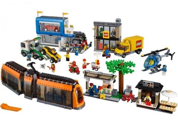 Конструктор Lego City Лего Город Городская площадь
