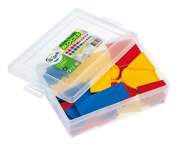 Купить Конструктор Gigo Логические блоки Дьенеша в интернет магазине игрушек и детских товаров