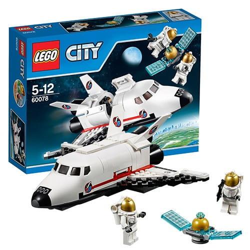 Конструктор Lego City Лего Город Обслуживающий шаттл