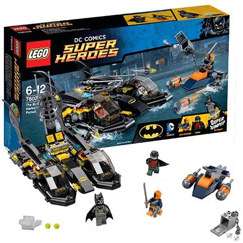 Конструктор Lego Super Heroes Лего Супер Герои Погоня в бухте на Бэткатере