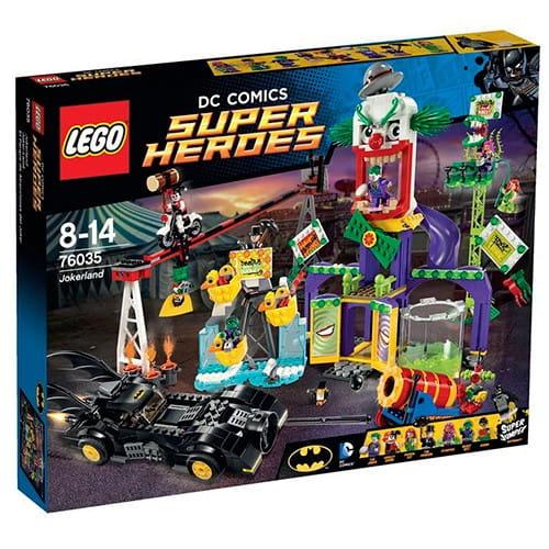 Купить Конструктор Lego Super Heroes Лего Супер Герои Джокерленд в интернет магазине игрушек и детских товаров