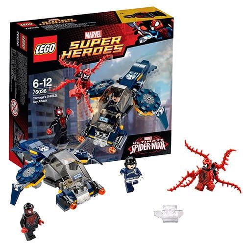 Конструктор Lego Super Heroes Лего Супер Герои Воздушная атака Карнажа