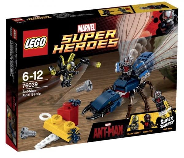 Купить Конструктор Lego Super Heroes Лего Супер Герои Решающая битва Человека-муравья в интернет магазине игрушек и детских товаров