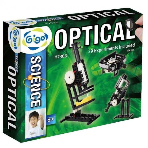 Купить Конструктор Gigo Оптические эксперименты в интернет магазине игрушек и детских товаров