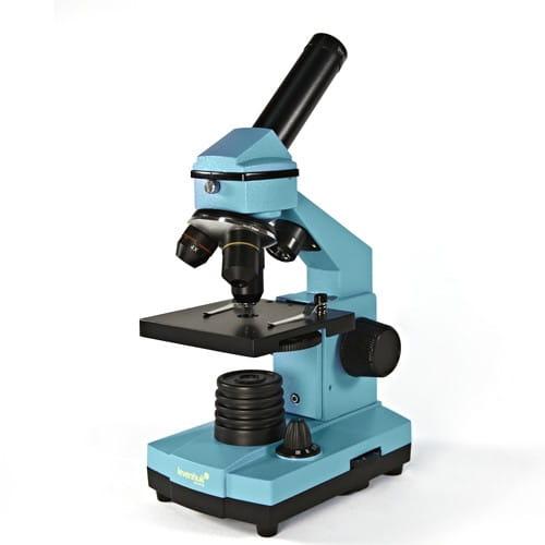Купить Детский Микроскоп Levenhuk Rainbow 2L NG - Лазурь Azure в интернет магазине игрушек и детских товаров