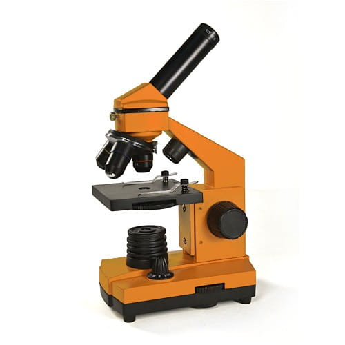 Купить Детский Микроскоп Levenhuk Rainbow 2L NG - Апельсин Orange в интернет магазине игрушек и детских товаров