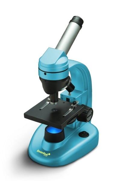Купить Детский Микроскоп Levenhuk Rainbow 50L NG - Лазурь Azure в интернет магазине игрушек и детских товаров