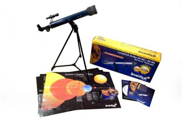 Детский Телескоп Levenhuk Strike 50 NG