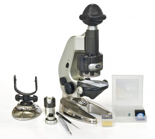 Купить Цифровой микроскоп Bresser Junior 4 в 1 в интернет магазине игрушек и детских товаров