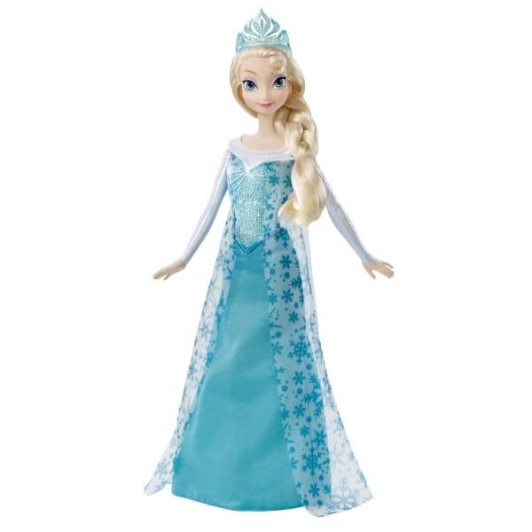 Кукла Disney Princess Холодное сердце Эльза поет песню (Mattel)