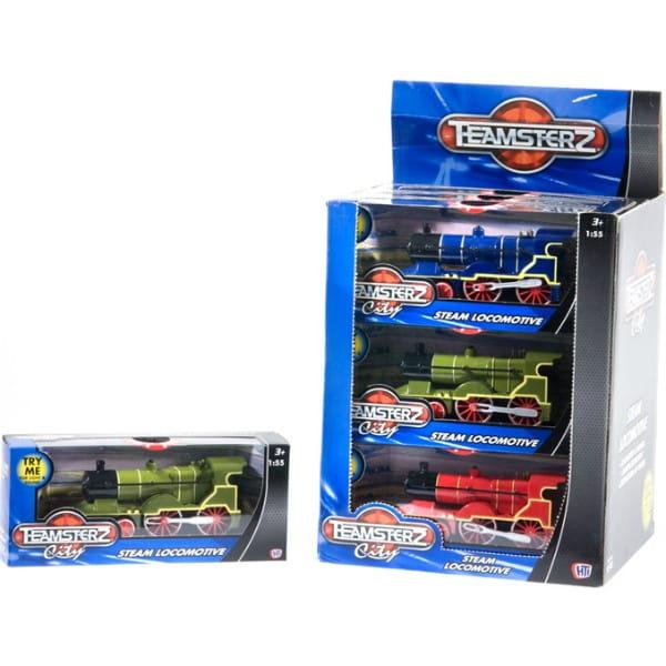 Купить Паровоз HTI Teamsterz 1:55 в интернет магазине игрушек и детских товаров