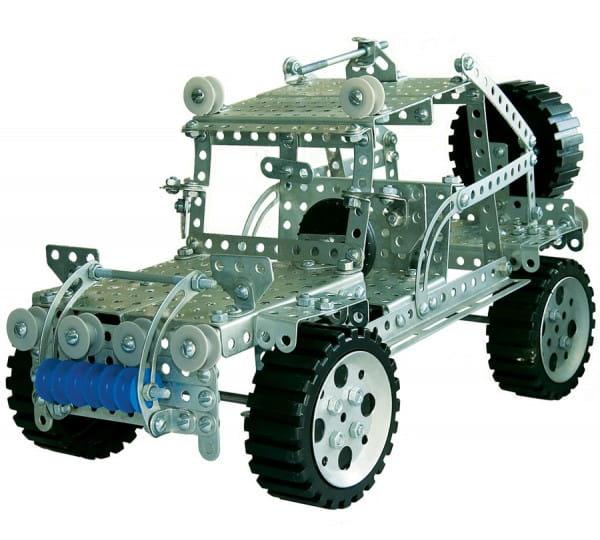 Металлический конструктор Десятое королевство 00955ДК Джип