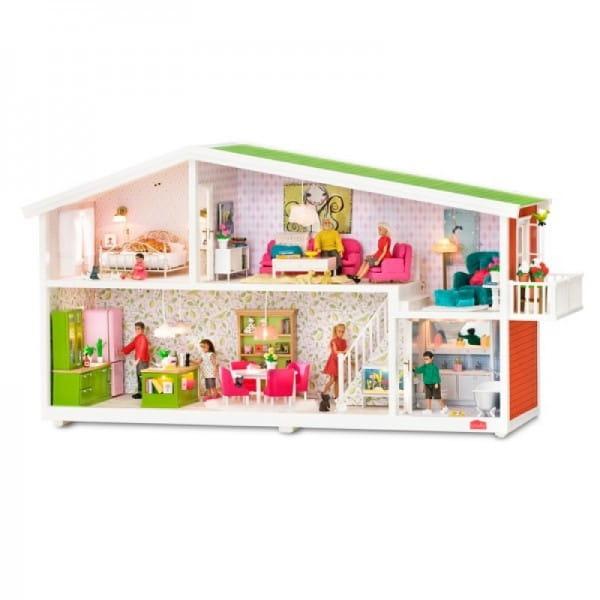 Кукольный домик LUNDBY Смоланд (с подключением света)
