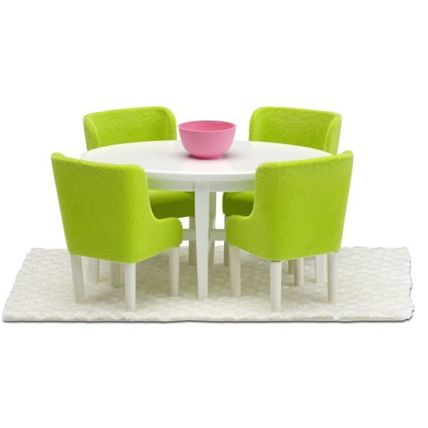 Набор мебели для домика Lundby LB_60209000 Смоланд Обеденная группа