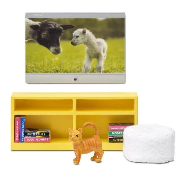Купить Набор мебели для домика Lundby Смоланд Домашний кинотеатр в интернет магазине игрушек и детских товаров