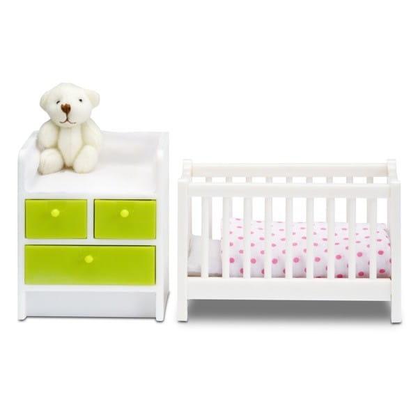 Набор мебели для домика Lundby Смоланд Детская для младенца