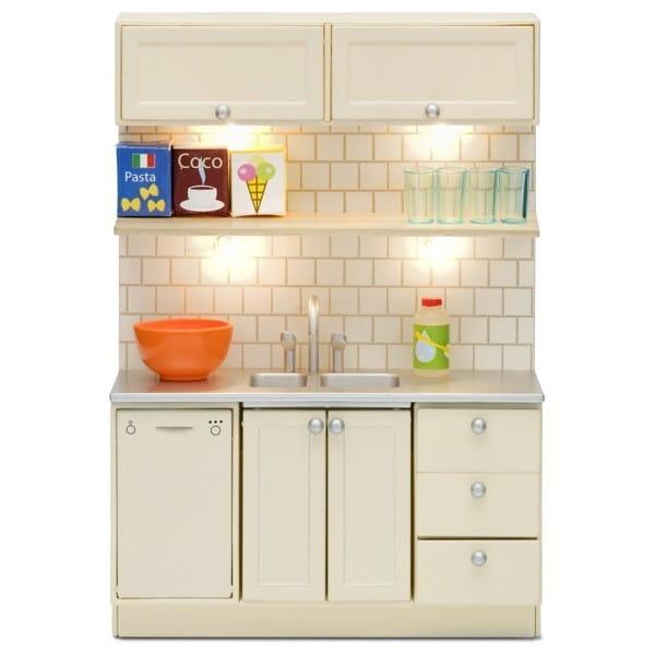 Набор мебели для домика Lundby LB_60209400 Смоланд Кухня (с мойкой и посудомоечной машиной)