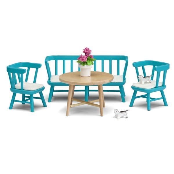 Набор мебели для домика Lundby LB_60209600 Смоланд Обеденный уголок