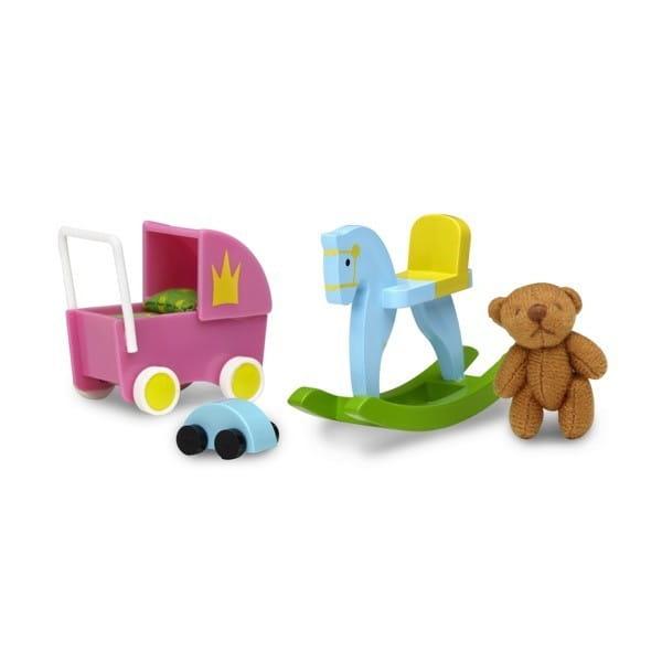 Купить Набор для домика Lundby Смоланд Игрушки для детской комнаты в интернет магазине игрушек и детских товаров