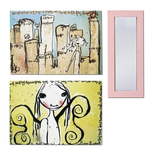 Набор для домика Lundby Смоланд Зеркало и картины