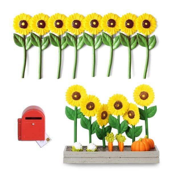Набор для домика Lundby 60508200 Смоланд Садовые цветы, огородик и почтовый ящик