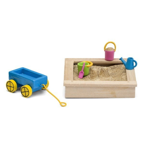 Набор для домика Lundby LB_60509600 Смоланд Детская песочница с игрушками