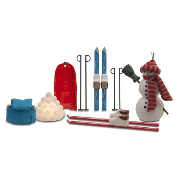 Игровой набор для домика Lundby Смоланд Зимний Для отдыха на воздухе