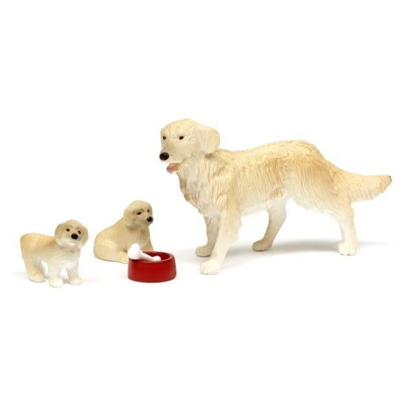 Игровой набор для домика Lundby Смоланд Пес со щенками