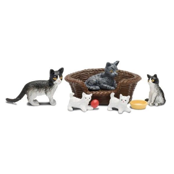 Игровой набор для домика Lundby Смоланд Кошачья семья