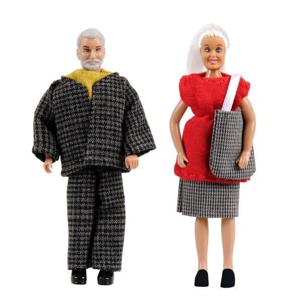 Набор кукол для домика Lundby Смоланд Бабушка с дедушкой
