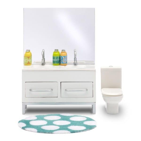 Набор мебели для домика Lundby 60900700 Стокгольм Ванная