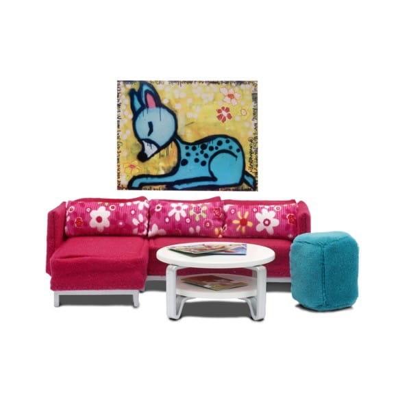 Набор мебели для домика Lundby LB_60904600 Стокгольм Гостиная