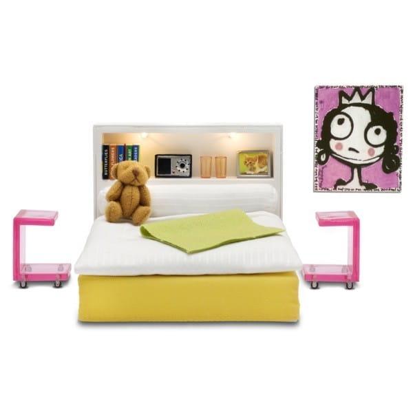 Набор мебели для домика Lundby LB_60904700 Стокгольм Спальня