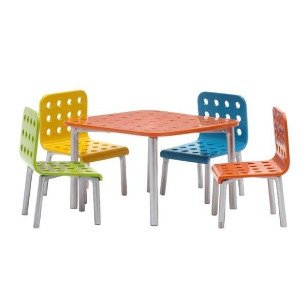 Набор мебели для домика LUNDBY Стокгольм Стол со стульями для террасы