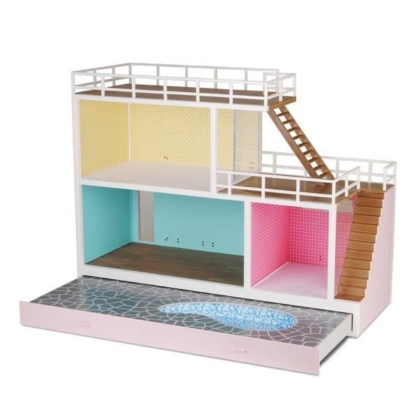 Кукольный домик Lundby Стокгольм с выдвигающимся бассейном (с подключением света)