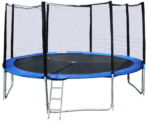 Купить Батут с сеткой DFC Trampoline Fitness 8 футов - 244 см в интернет магазине игрушек и детских товаров