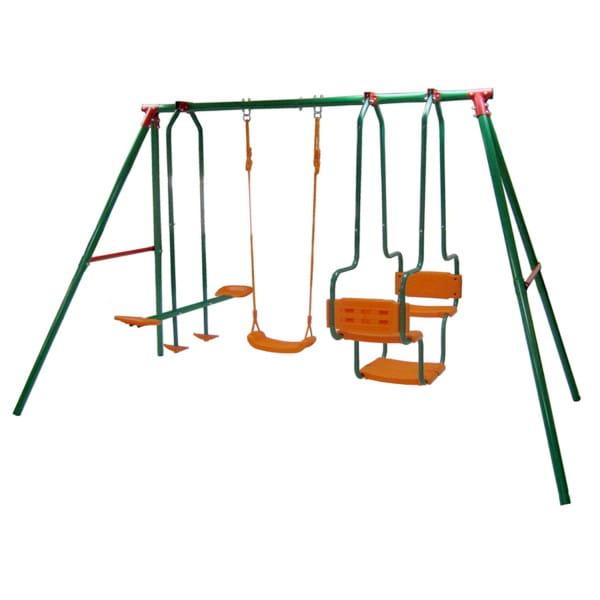 Купить Тройные качели DFC SGL-01 в интернет магазине игрушек и детских товаров