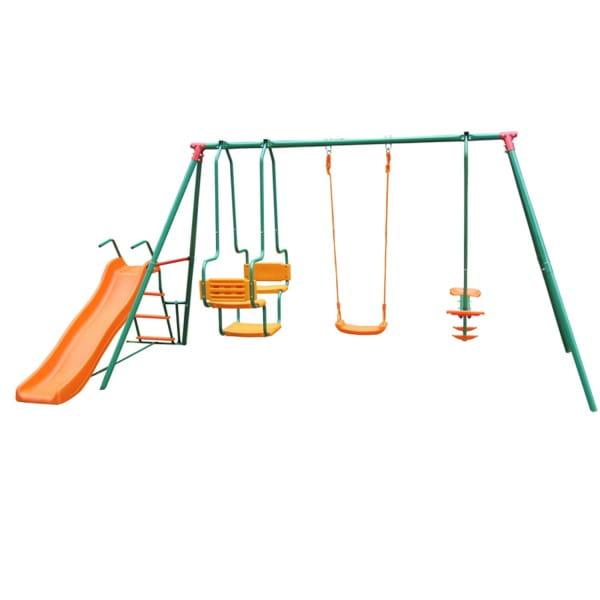 Купить Детский комплекс с горкой DFC MSGL-01 в интернет магазине игрушек и детских товаров