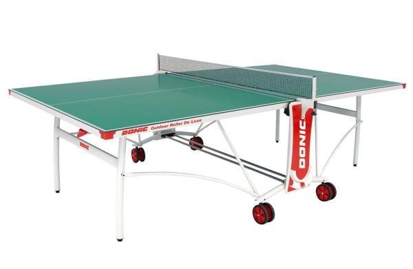 Всепогодный теннисный стол Donic 230232-G Outdoor Roller De Luxe - зеленый
