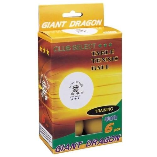 Купить Мячи Giant Dragon Club Select - желтые в интернет магазине игрушек и детских товаров